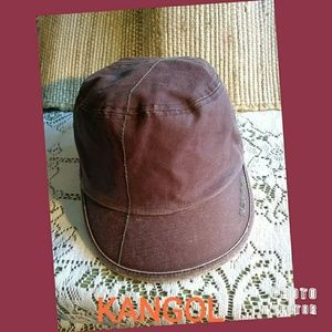 KANGOL CANVAS ARGYLE MAU WITH SIDE ZIP CAP
